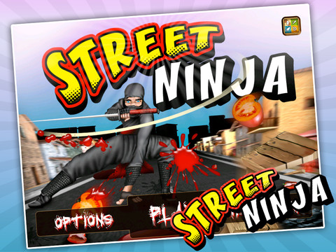 Street Ninja HD – Adventurous iPad Game from H.S.A Studios