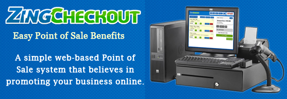Zingcheckout.com – Web Based Point of Sale Software