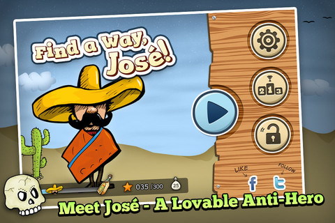 Find a Way, Jose! – Classic Sliding Block Game