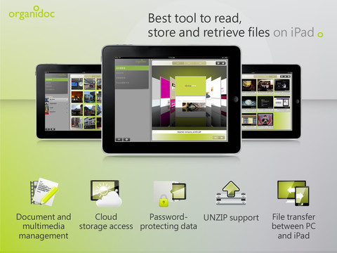 OrganiDoc HD – Simple Way to Manage Files on your iPad