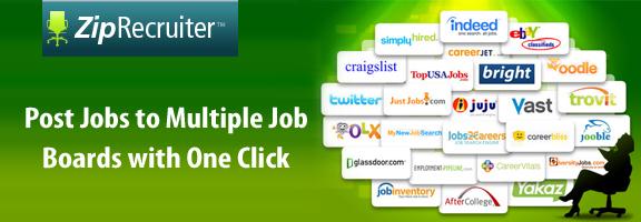 Ziprecruiter.com – Easy and Fast Hiring Web Application