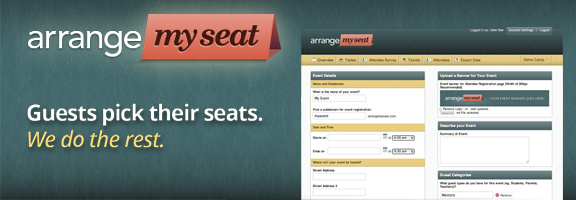 ArrangeMySeat.com – Best Way to Organize an Event
