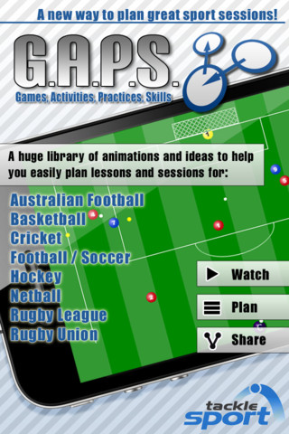 G.A.P.S – The Best Sports Coaching App