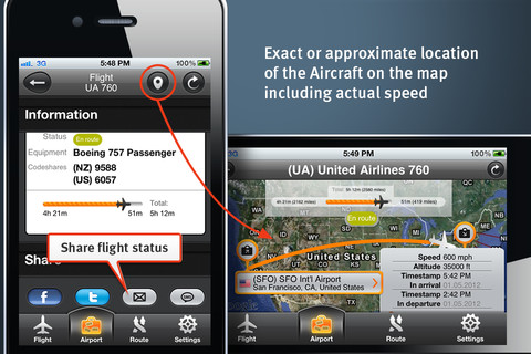 FlightHero – App to Track Your Flight Schedule