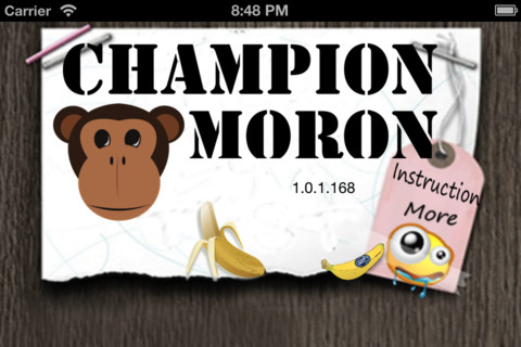 Champion Moron Lite – Game that Tests Your Patience