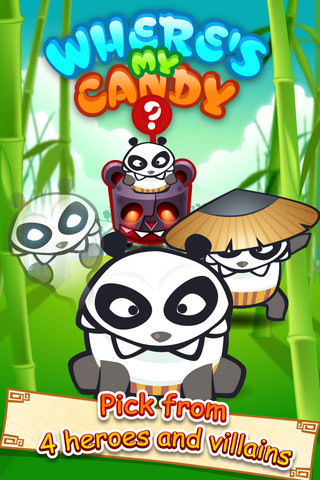 Where's My Candy – The Panda is Hungry