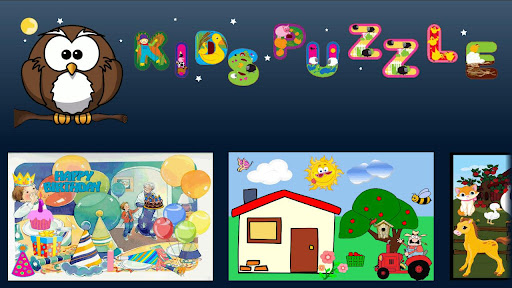 Kids' Puzzle Lite – Android App to Play and Learn