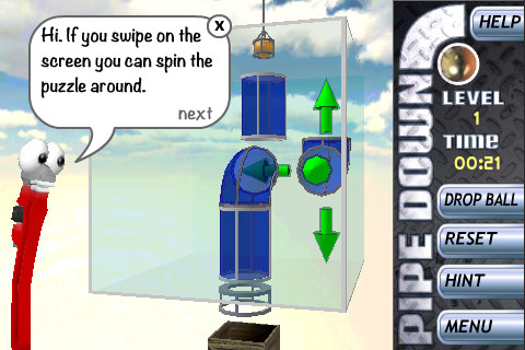 Pipedown ios Game – Plumbing is Fun
