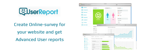UserReport.com – Best Way to Know Visitors Feedback