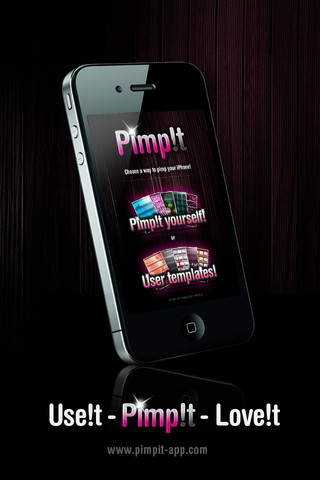 Pimp!t – Quick Wall Paper App for Your iPhone