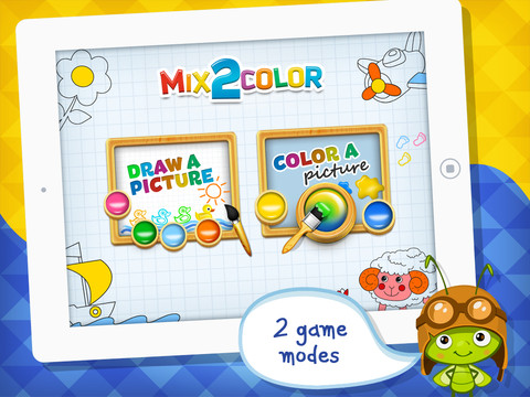 Mix 2 Color – Learning with Fun for Kids !