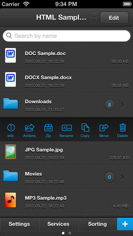 iFile – Managerial App for your Files