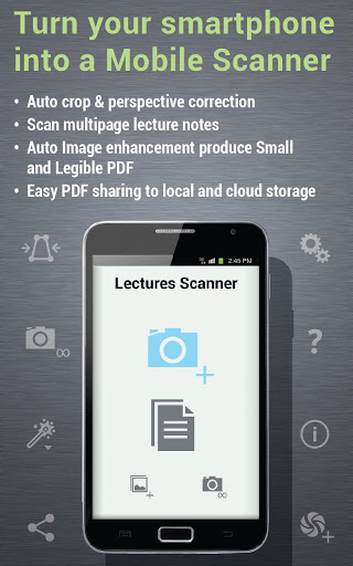 Lecture Scanner – No Need to Write Lecture Note Again