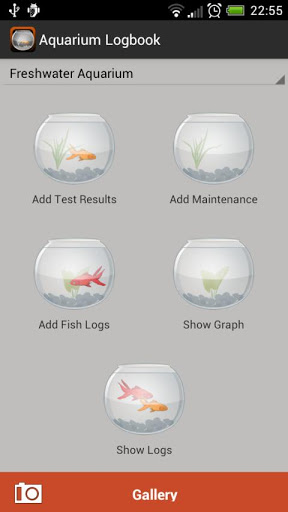 Aquarium Logbook : Your Fish will Love it !