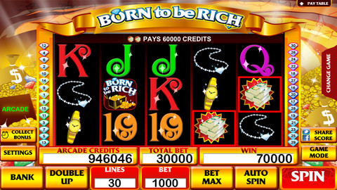 Born To Be Rich Slot Machine : Your Personal Casino