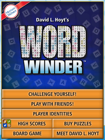 Word Winder HD : Let words Rack your Brain Again !