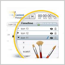 Easy WebContent Presenter :Make your work interactive