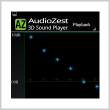 AudioZest 3D Music Player :Your Virtual Music Library