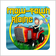 MOW TOWN RIDING HD – WHERE MOWING BECOMES INTERESTING