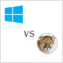 Windows 8 vs OS X Mountain Lion: Which is best OS