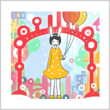 FANCY BALLOON – DECORATES YOUR HOME SCREEN