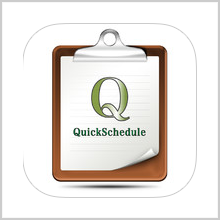 QUICKSCHEDULE – IT'S AS QUICK AS THE TITLE SAYS