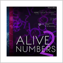 ALIVE NUMBERS 2 – WALLPAPERS FROM A PROFESSIONAL'S CLOSET