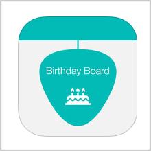 BIRTHDAY BOARD – A 'FESTIVE' CALENDAR