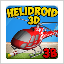 HELIDROID 3B – LET'S SEE THE WORLD FROM A NEW DIMENSION!