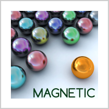 "MAGNETIC BALLS PUZZLE : NEWTON'S LAW OF ""INVERTED GRAVITATION"""