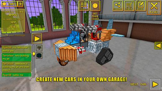 скачать игру Blocky Cars - фото 8