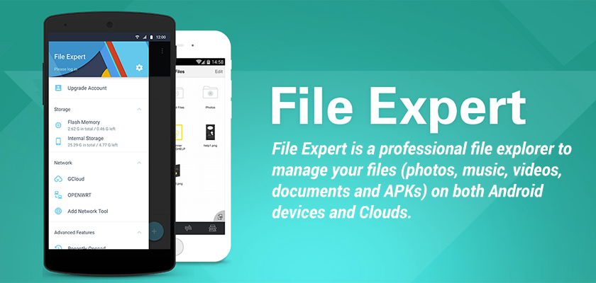 File Expert With Clouds- Best file explorer for Android