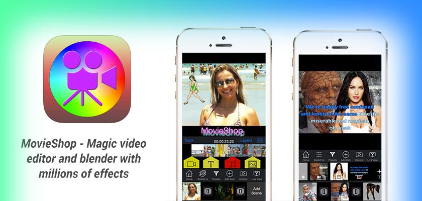 MovieShop- Video editing made easy