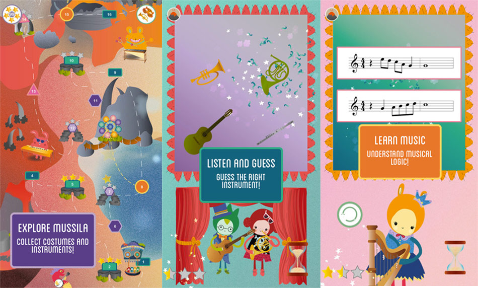 Mussila App: An Incredible Music Game Equipping Kids With skills