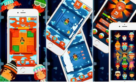 Snow Time Swipe Game; Swipe Across Snow To Unlock Doors and Earn Prizes
