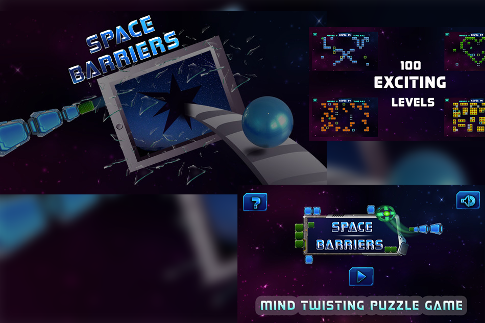 Space Barriers – For Puzzle Game Lovers !