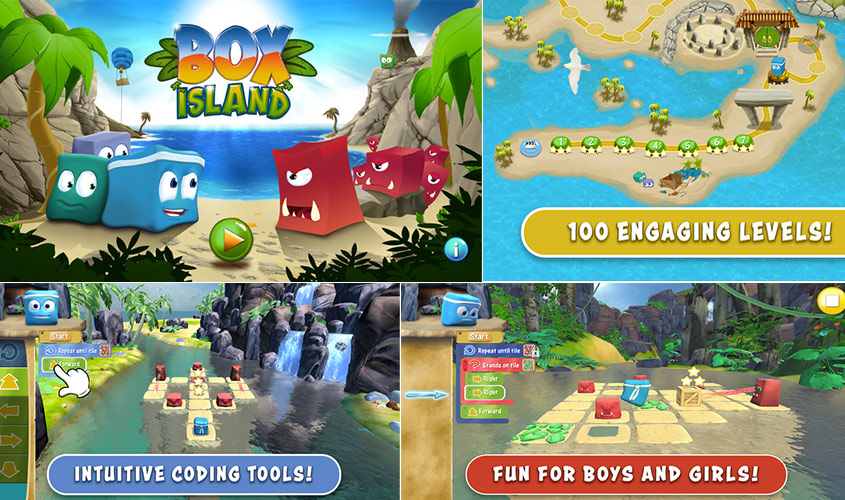 Box Island; An Amazing Adventurous Coding Experience For Kids