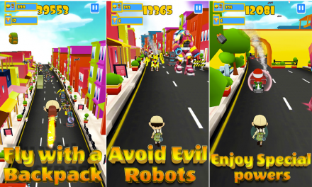 Robot Clash Run:Defend The Earth From Drones And Robots