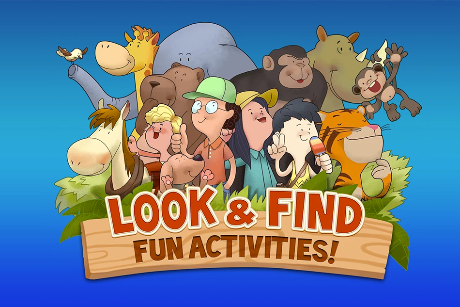Look and Find App Game:Great Fun For Kids