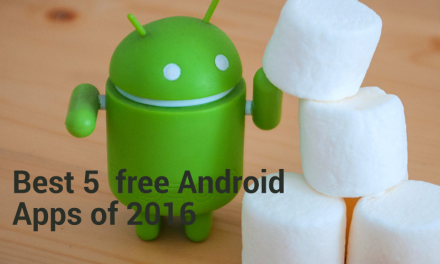 Best 5 free Android Apps of 2016