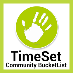 TimeSet Community Bucket List