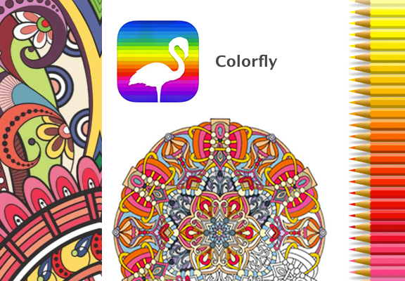 Colorfly App: Best Coloring App With A Unique Relaxing