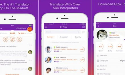 Get a real human translation with Qtok