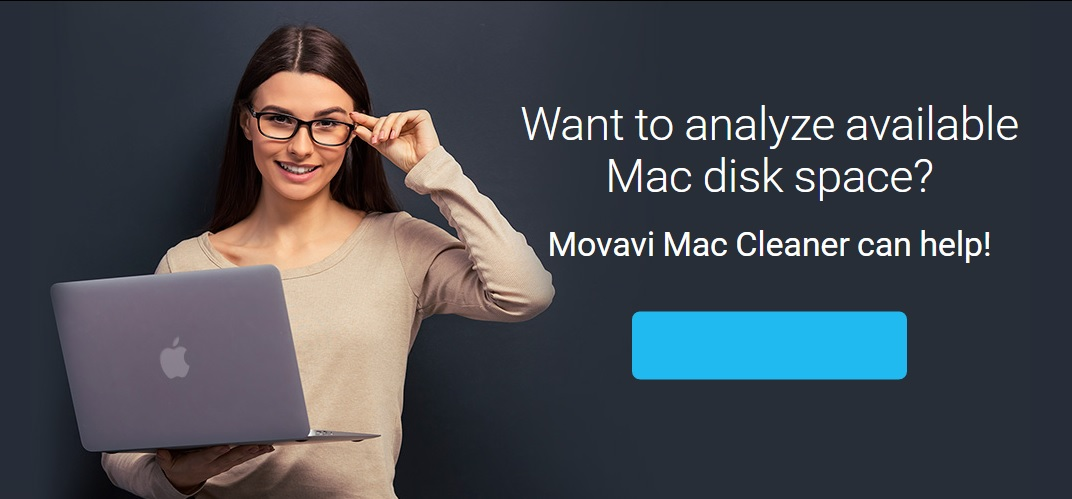 Cleaning Disk Space on a Mac with Movavi Mac Cleaner