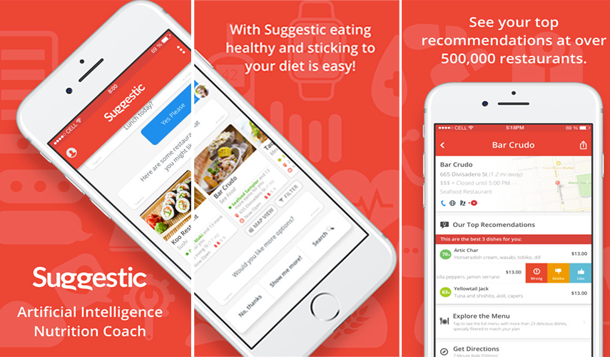 Suggestic: A step towards a healthier lifestyle