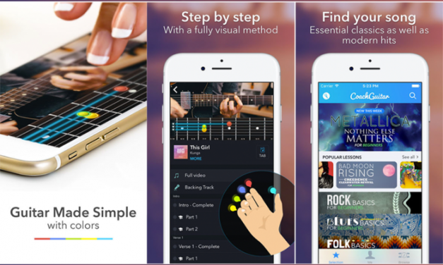 Coach Guitar iPhone app Review