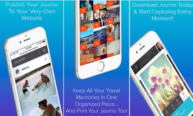 JOURNO TRAVEL JOURNAL- LET THE WHOLE WORLD SEE YOUR MEMORIES!