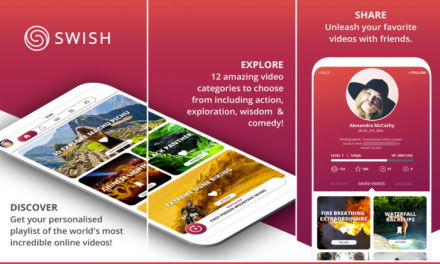 SWISH  Video – iPhone App Review
