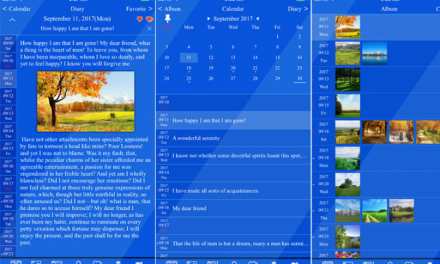 Get Yourself Some 'Me Time' with the Edge Diary App