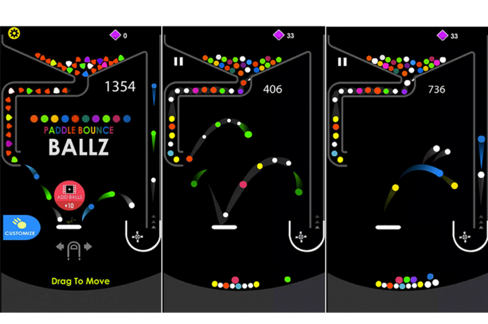 Paddle Bounce Ballz – A Time Killer Mobile Game